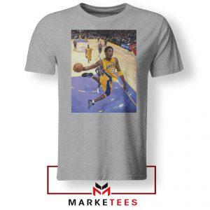 Slam Dunk Kobe Bryant Grey Tshirt