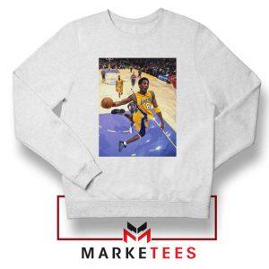 Slam Dunk Kobe Bryant White Sweatshirt