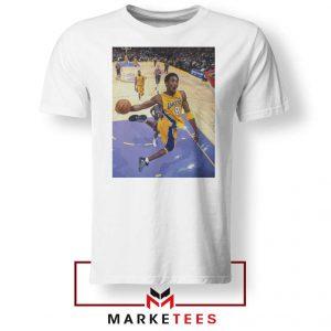 Slam Dunk Kobe Bryant White Tshirt