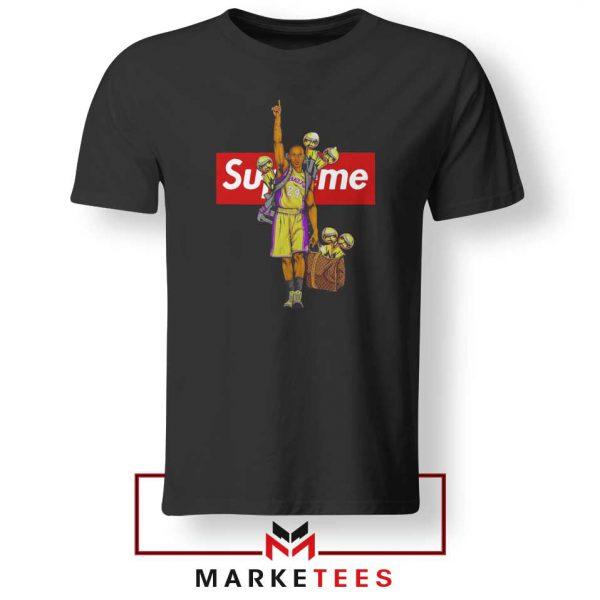 Supreme Parody Kobe Bryant Black Tshirt