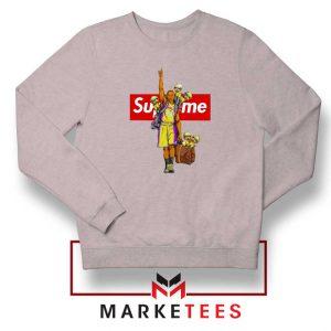 Supreme Parody Kobe Bryant Grey Sweater