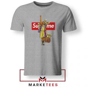 Supreme Parody Kobe Bryant Grey Tshirt