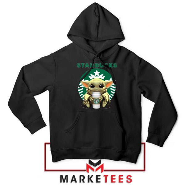 The Child Hug Starbucks Coffee Black Hoodie