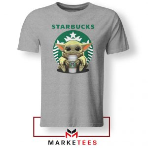 The Child Hug Starbucks Coffee Grey Tshirt