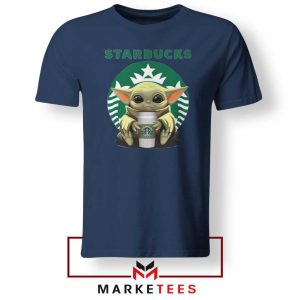 The Child Hug Starbucks Coffee Navy Tshirt