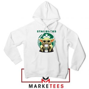 The Child Hug Starbucks Coffee White Hoodie