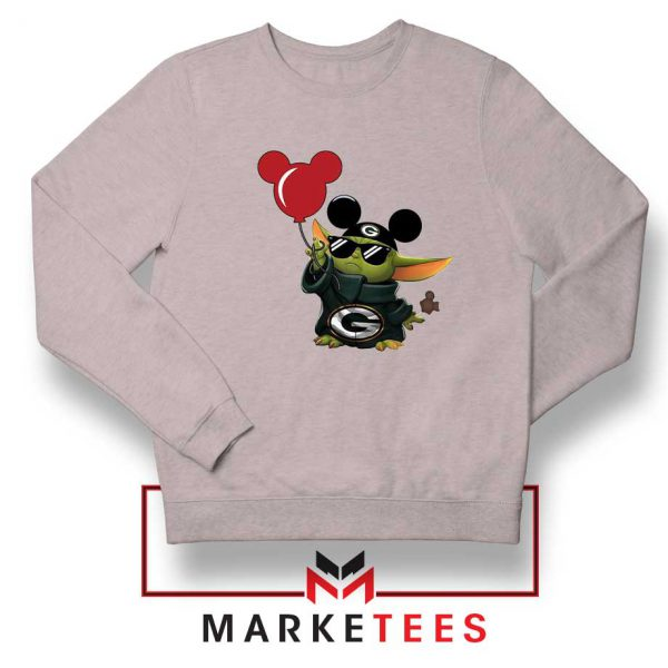 The Child Mickey Mouse Balloons Grey Sweatshirt