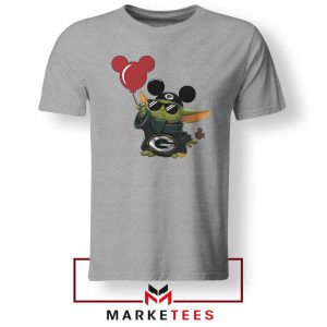 The Child Mickey Mouse Balloons Grey Tshirt