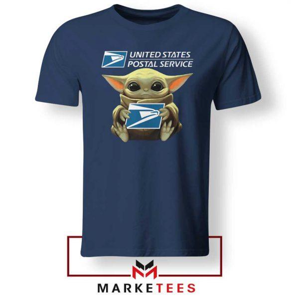 The Child US Postal Service Navy Tshirt