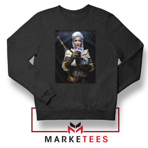 The Witcher Cirilla Black Sweatshirt
