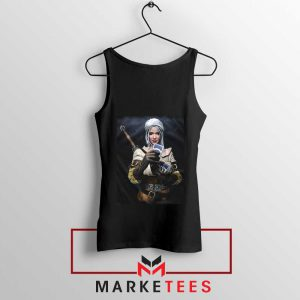 The Witcher Cirilla Black Tank Top