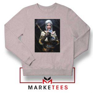 The Witcher Cirilla Grey Sweatshirt