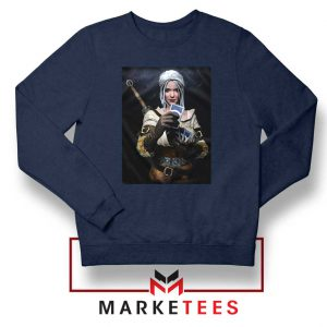 The Witcher Cirilla Navy Sweatshirt