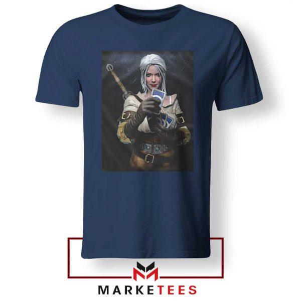 The Witcher Cirilla Navy Tee Shirt