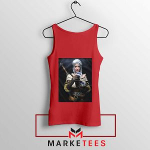 The Witcher Cirilla Red Tank Top
