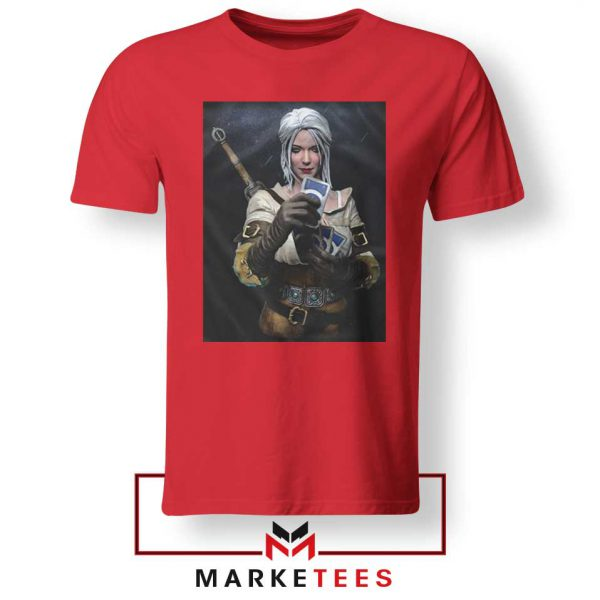 The Witcher Cirilla Red Tee Shirt