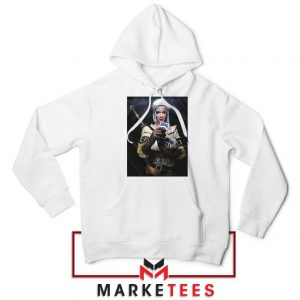 The Witcher Cirilla White Hoodie
