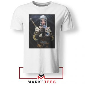 The Witcher Cirilla White Tee Shirt