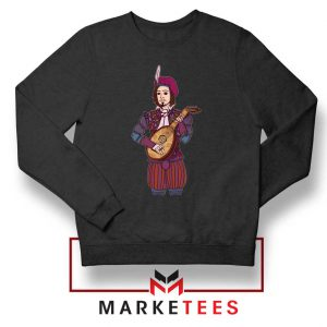 The Witcher Dandelion Black Sweatshirt