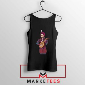 The Witcher Dandelion Black Tank Top