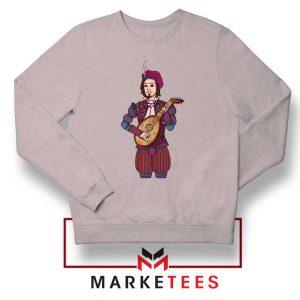 The Witcher Dandelion Grey Sweatshirt