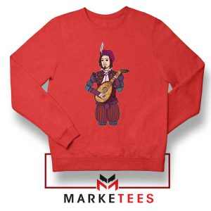 The Witcher Dandelion Red Sweatshirt