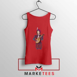 The Witcher Dandelion Red Tank Top