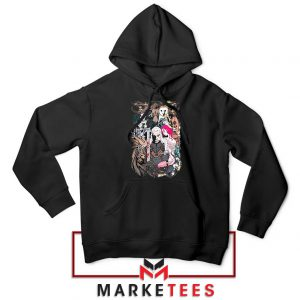 The Witcher Graphic Black Hoodie