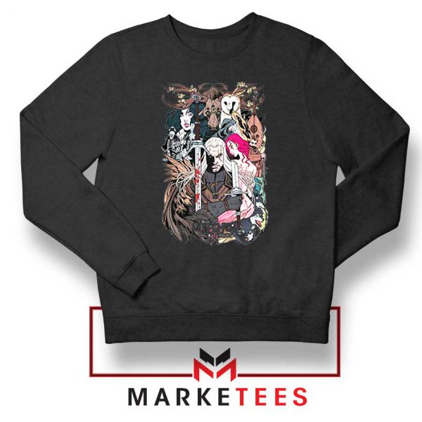 The Witcher Graphic Black Sweater