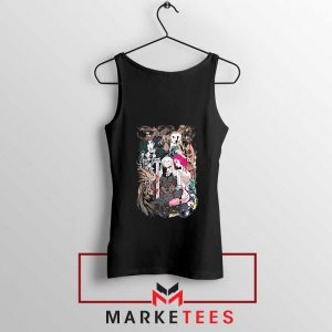 The Witcher Graphic Black Tank Top
