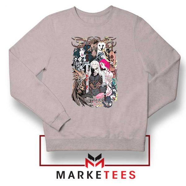 The Witcher Graphic Grey Sweater
