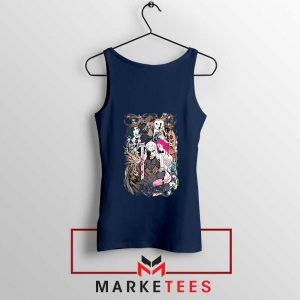 The Witcher Graphic Navy Tank Top