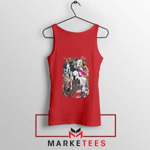 The Witcher Graphic Red Tank Top
