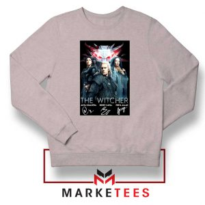 The Witcher Main Characters Grey Sweater