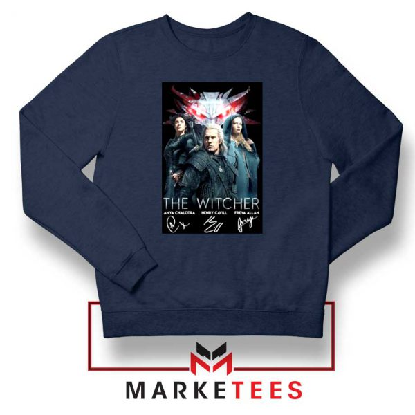 The Witcher Main Characters Sweater