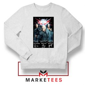 The Witcher Main Characters White Sweater