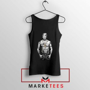 Trump Gangster Black Tank Top