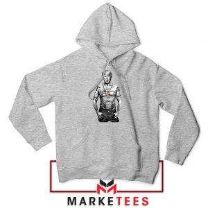 Trump Gangster Grey Hoodie