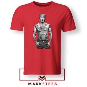 Trump Gangster Red Tee Shirt