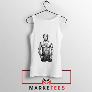 Trump Gangster White Tank Top