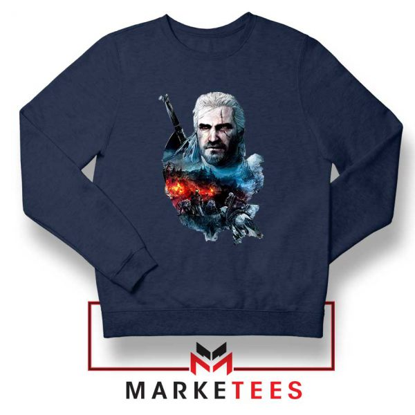 Witcher 3 Into The Fire Sweater