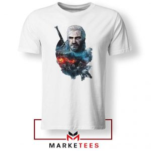 Witcher 3 Into The Fire Tee Shirt