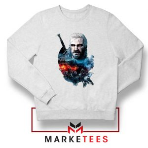 Witcher 3 Into The Fire White Sweater