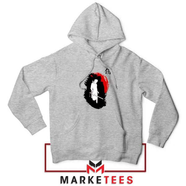 Witcher Art Design Grey Hoodie