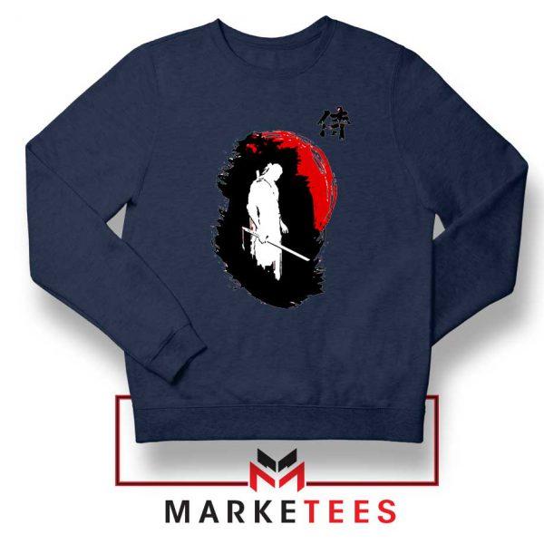 Witcher Art Design Navy Sweatshirt