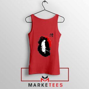 Witcher Art Design Red Tank Top
