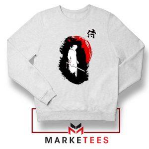 Witcher Art Design White Sweatshirt