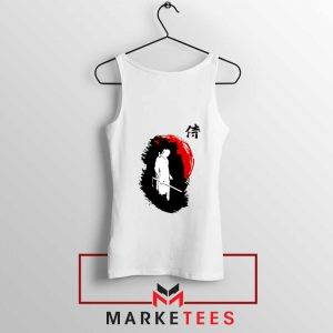 Witcher Art Design White Tank Top