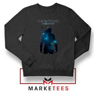 Witcher Geralt Black Sweatshirt