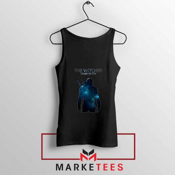 Witcher Geralt Black Tank Top